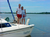 Marilyn & Tom - S/V Freelance