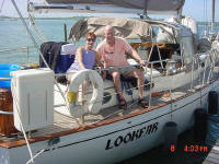 We have been cruising part-time for seven years and have left our yacht Lookfar in Mexico, El Salvador, and Cartagena. This last year we left Lookfar in Careening Cay Marina. Mary's diligent maintenance over the six months that we were gone was excellent!