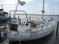 Bruce Gordon and Phyllis Haines - S/V Otter II