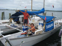 Nicole and John - S/V TARAIPO